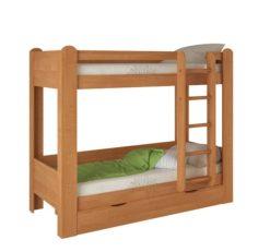 Кровать двухъярусная №1 (ольха) 1