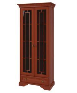 Шкаф 2-х двернный с 1 ящиком изд. 1 серии МК 21 1