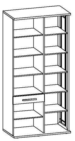 Шкаф МФН Н2 (левый) изд. 6 серии МК 30 2