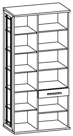Шкаф МФН Н2 (правый) изд. 6 серии МК 30 2