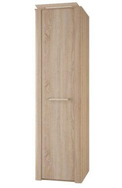 Шкаф 1-дверный с полками изд. 1 серии МК 44 (ель) 1