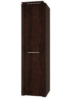 Шкаф 1-дверный с полками изд. 1 серии МК 44 (старый дуб) 1