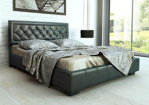 Кровать с подъемным механизмом изд. 246 (серая) серии МК 52 1