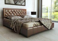 Кровать с подъемным механизмом изд. 246 (бронза) серии МК 52 1