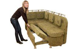 Кухонный угловой диван Ниагара-4К 3