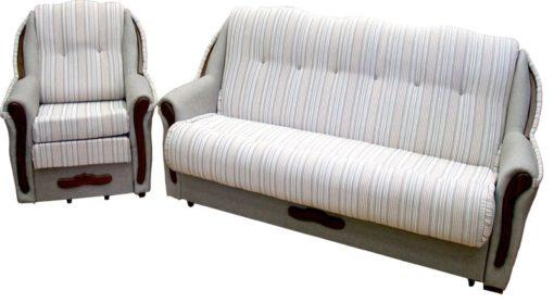 Комплект Ниагара 2В дуга с креслом-кроватью 8