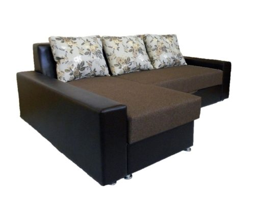 Угловой диван Престиж с ортопедическим матрасом 3