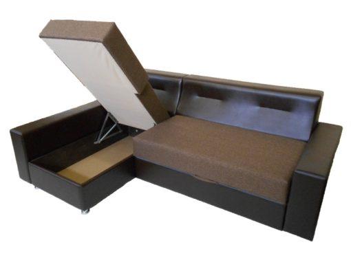 Угловой диван Престиж с ортопедическим матрасом 4