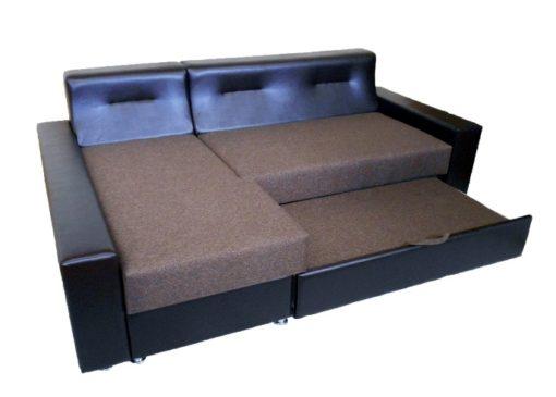 Угловой диван Престиж с ортопедическим матрасом 5