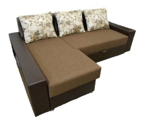 Угловой диван Престиж с ортопедическим матрасом 1