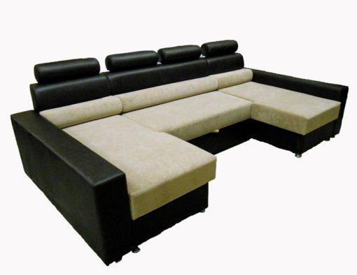 Угловой диван Версаль-П с ортопедическим матрасом 3