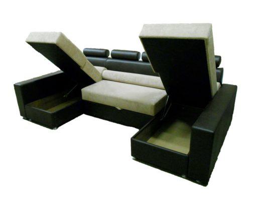 Угловой диван Версаль-П с ортопедическим матрасом 4