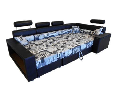 Угловой диван Версаль-П с ортопедическим матрасом 5