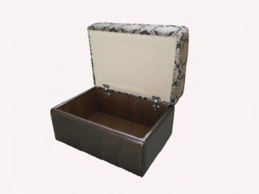 Пуфик откидной с ящиком 2
