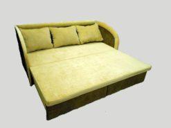 Тахта Глория 3 (спинка+2 подлокотника) с подушками 2