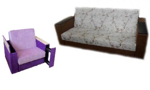 "Комплект ""Милан"" диван+кресло 1"