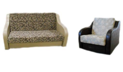 """Комплект """"Рондо"""" диван+кресло 1"""