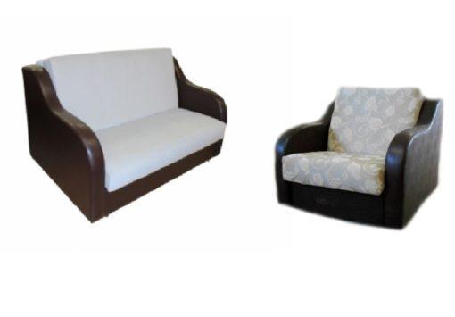 """Комплект """"Рондо"""" ортопедический диван+кресло 1"""