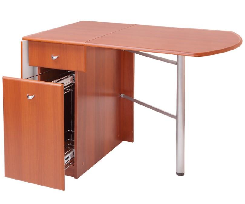 102Складной стол тумба