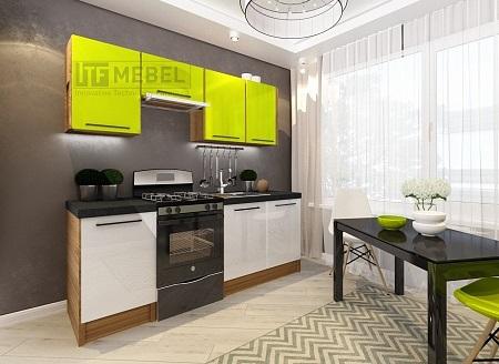 Кухонный гарнитур на 2100мм 2
