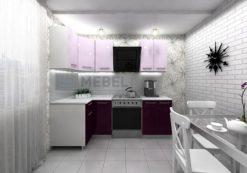 Кухонный гарнитур угловой 2200*1000 2