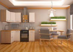 Кухонный гарнитур угловой 2000*1400 2