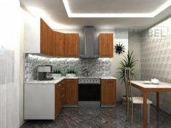 Кухонный гарнитур угловой 2000*1500 2