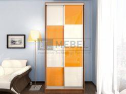 Шкаф Купе 2-х дверный пластик (шир. от 100 до 120) 1