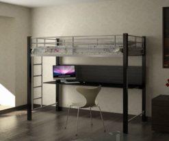 Кровать чердак металлическая «Градо» 1
