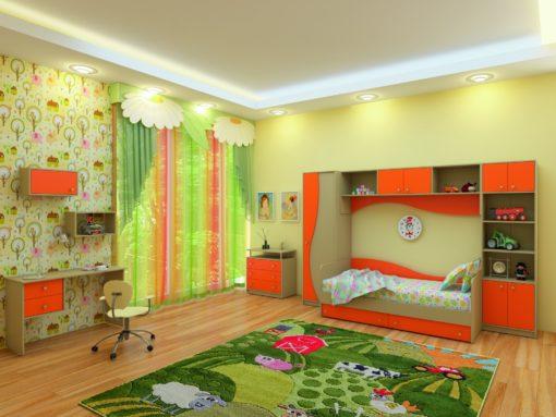 Детская Спальня Улыбка 2