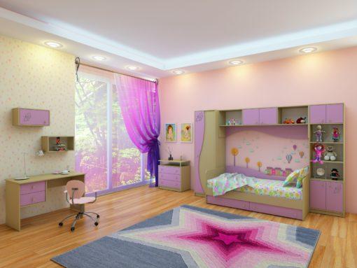Детская Спальня Улыбка 3