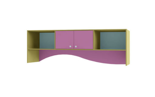 Полка над кроватью Улыбка ДМ 3005 1