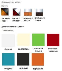 Журнальный столик Дельта 3н (цвет) 2