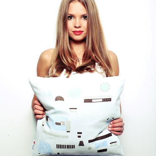 Подушка с прямой печатью 5