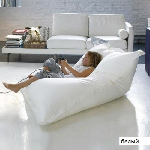 Бескаркасное кресло-подушка 2