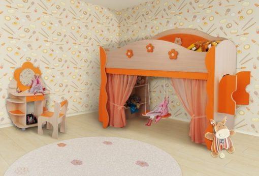 Модульная детская Цветочная фея №3 1