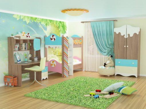 Модульная детская Пряничный домик №2 1