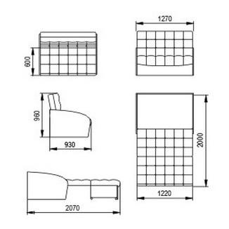 """Диван-кровать """"Оригинал"""" 120 см 6"""