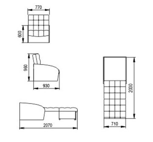 """Кресло-кровать """"Оригинал"""" 3"""