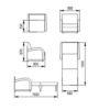 Кресло-кровать «Стандарт» 70 см  — фото3