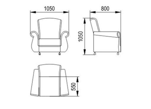 """Кресло для отдыха """"Люкс"""" 3"""