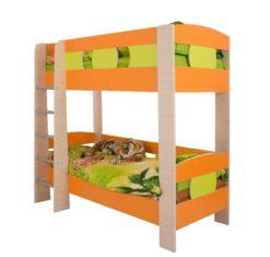 Кровать двухъярусная Маугли 2