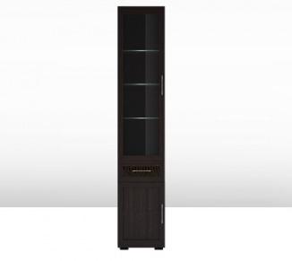 Шкаф 450 со стеклом (5) Парма Люкс 1