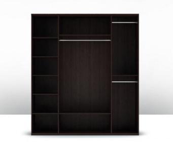 Шкаф 4-х дверный (корпус) Парма 1