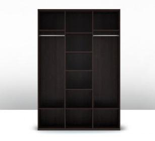 Шкаф 3-х дверный (корпус) Парма 1