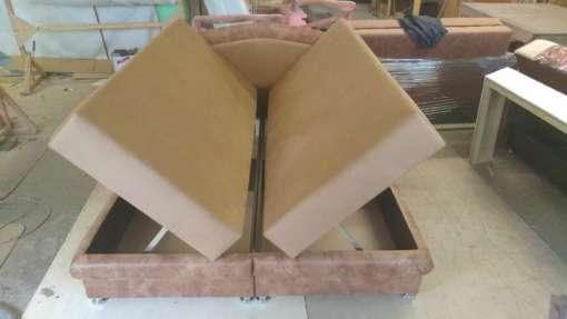 Тахта-кровать на пружинном блоке Глория (2)
