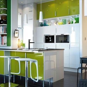Глянцевые кухни - кухни с глянцевым фасадом