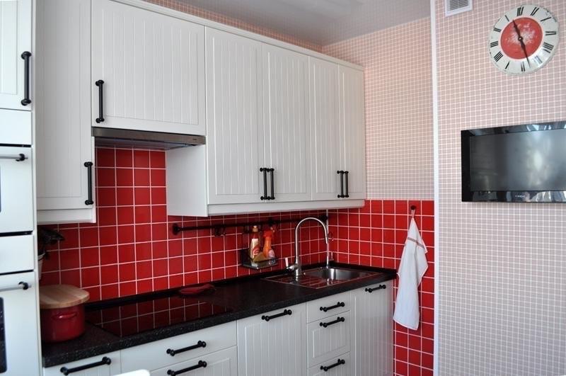Ремонт кухни с коробом фото