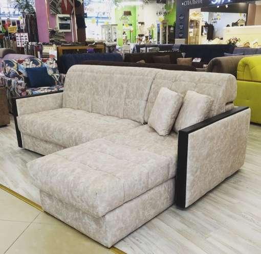 Угловой диван Кардинал-5 с узкими подлокотниками